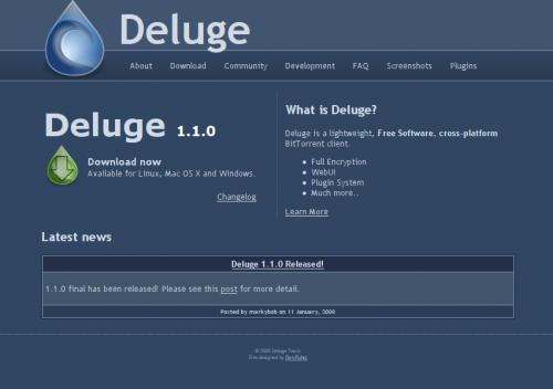 deluge-bittorrent-client 1.1.0