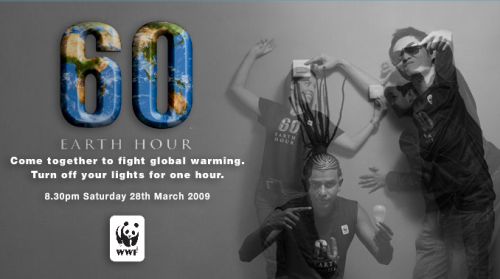 earth hour photos. Earth Hour Malaysia 2009,
